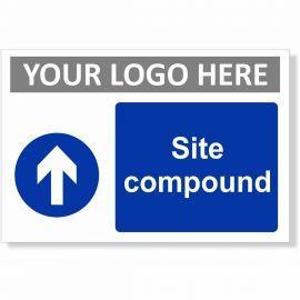 Site Compound Arrow Up Sign