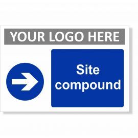 Site Compound Arrow Right Sign