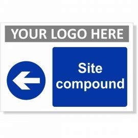 Site Compound Arrow Left Sign