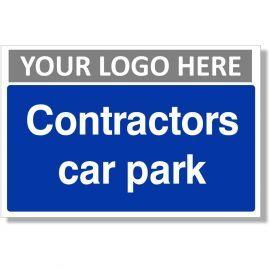 Contractors Car Park Sign