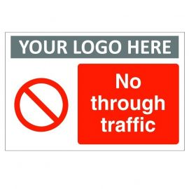 No Through Traffic Sign