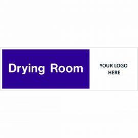Drying Room Door Sign
