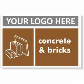 Concrete & Bricks Recycling Sign