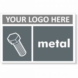 Metal Recycling Sign