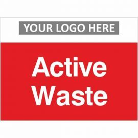 Active Waste Sign