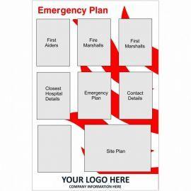 Emergency Plan Notice Board