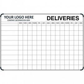 Deliveries Notice Board