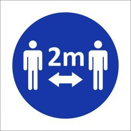 2m Sign Stickers - Pack of 10