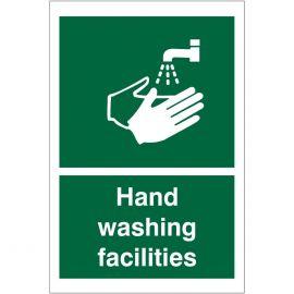 Hand Washing Facilities Sign