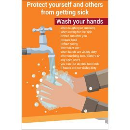 Protect Yourself And Others From Getting Sick Covid 19 Sign