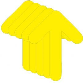 Directional Arrow Stickers (multipack)