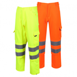 High Visibility Cargo Trousers