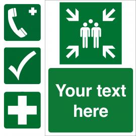 Custom Safe Condition Sign