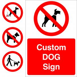 Custom Dog Sign