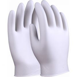 Clear Vinyl Powdered Disposable Gloves