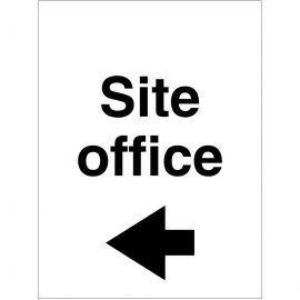Site Office Arrow Left Sign