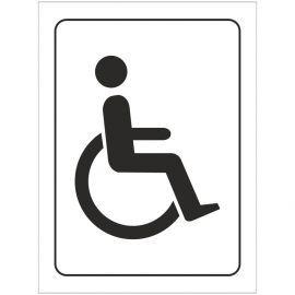 Disabled Symbol Toilet Door Sign
