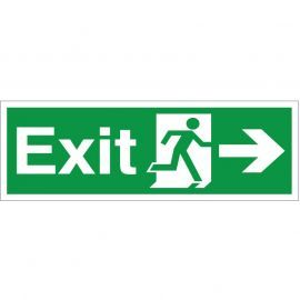 Exit Arrow Right Sign