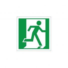Exit Man Running Right Sign