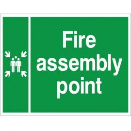 Fire Assembly Muster Point Sign
