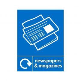 Newspaper and Magazine Sign