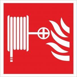Fire Hose Reel Symbol Sign 200x200