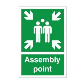 Assembly Point Sign - 200x300