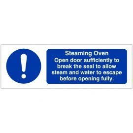 Steaming Oven Sign