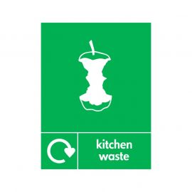 Kitchen Waste Sign