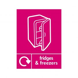 Fridges And Freezers Sign