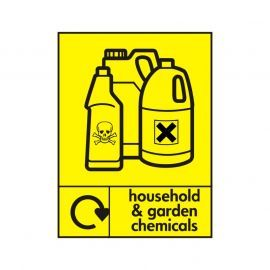Household And Garden Chemicals Sign