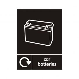 Car Batteries Sign