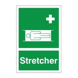 Stretcher First Aid Sign