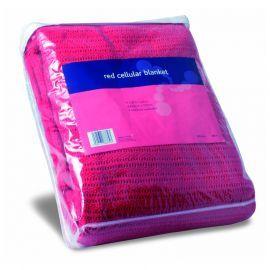 Cellular Blanket (Red)