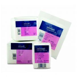 Cotton Gauze Swabs 7.5cm x 7.5cm sterile 5 pk