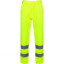 High Visibility Yellow Trousers