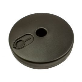 Black (Fillable) Round Base For Freestanding Posts