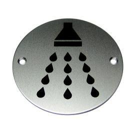 Shower Aluminium Sign
