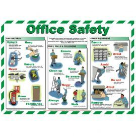 Office Safety Laminated Poster