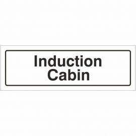 Induction Cabin Door Sign