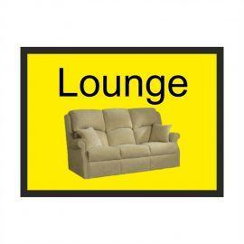 Lounge Dementia Sign