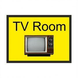 TV Room Dementia Sign
