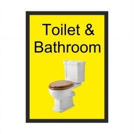 Toilet & Bathroom Dementia Sign