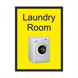 Laundry Room Dementia Sign