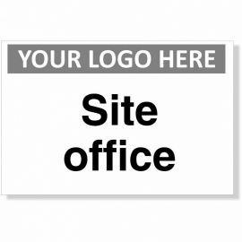 Site Office Custom Logo Sign