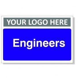 Engineers Custom Logo Door Sign