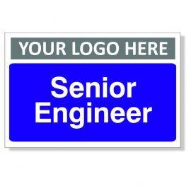 Senior Engineer Custom Logo Door Sign