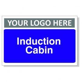 Induction Cabin Custom Logo Door Sign