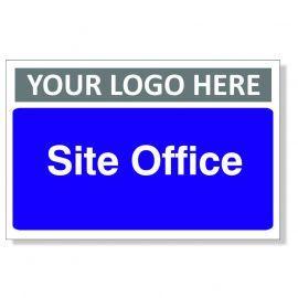 Site Office Custom Logo Door Sign