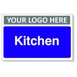 Kitchen Custom Logo Door Sign